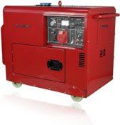 Diesel Stromerzeuger 230V + 400V Starkstrom