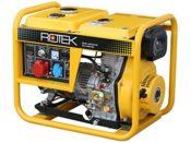 Rotek Diesel Stromerzeuger kompakt
