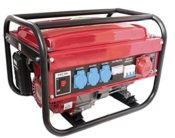 Stromgenerator Benzin 230/380V rot