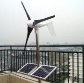 Gowe Grid Tie Solar Wind Hybrid-System