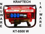 Stromgenerator 6000W Benzin rot