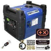 DENQBAR 3,6 kW Inverter Stromerzeuger benzinbetrieben E-Start und Funk